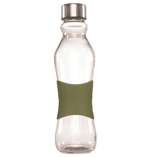 500ML KHAKI GRIP - STAINLESS