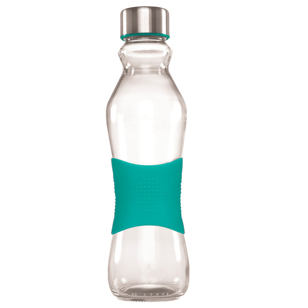 500ML TURQUOISE GRIP - STAINLESS