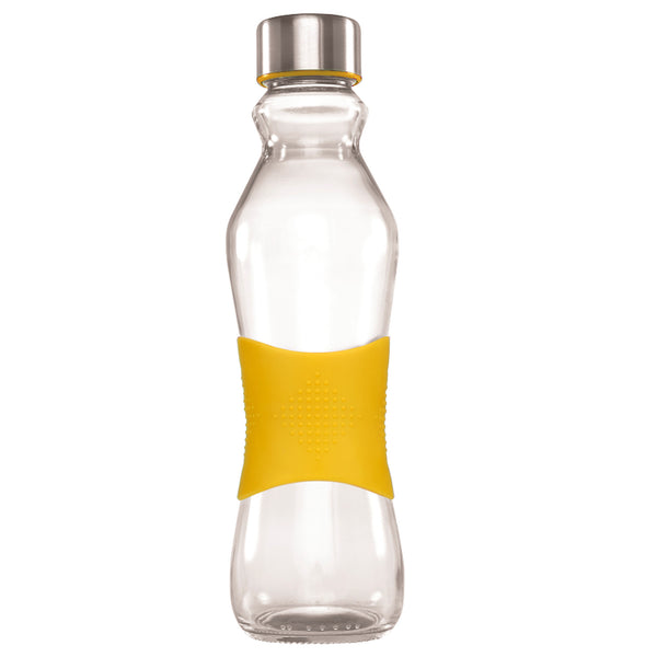 500ML YELLOW GRIP - STAINLESS