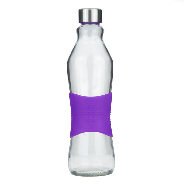 1.0L PURPLE GRIP - STAINLESS