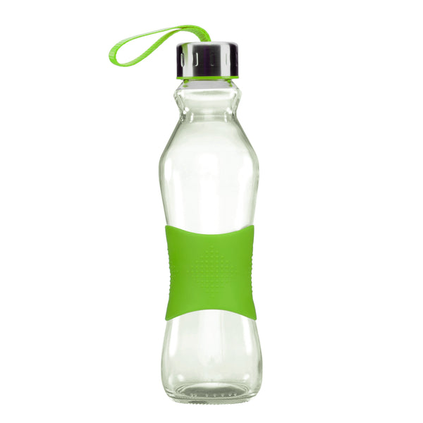 500ML GREEN GRIP - STRAPPED LID