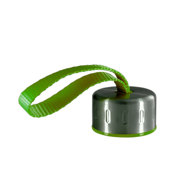 GREEN STAINLESS STEEL STRAP LID