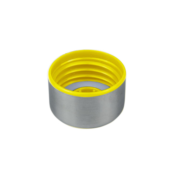 YELLOW STAINLESS STEEL LID