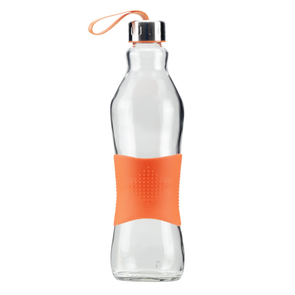 1.0L ORANGE GRIP - STRAPPED LID