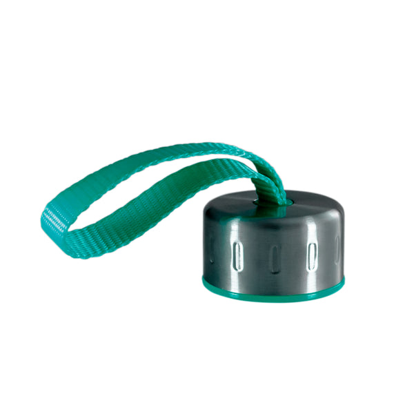 TURQUOISE STAINLESS STEEL STRAP LID