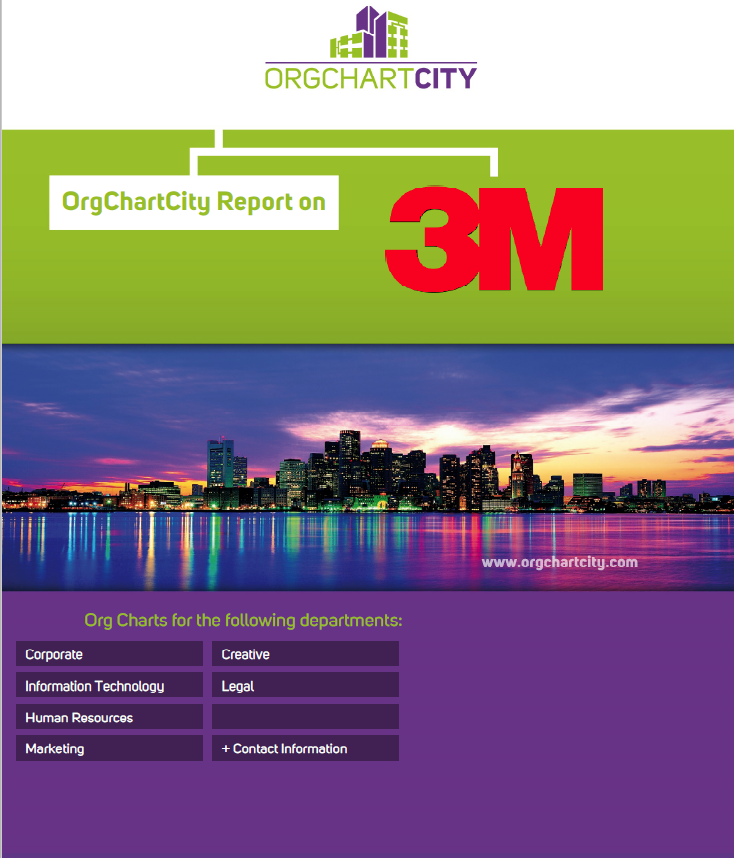 3M Org Charts by OrgChartCity
