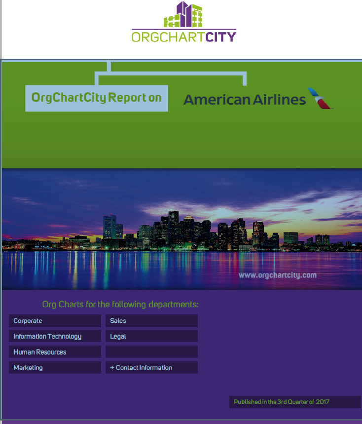 American Airlines Org Charts by OrgChartCity