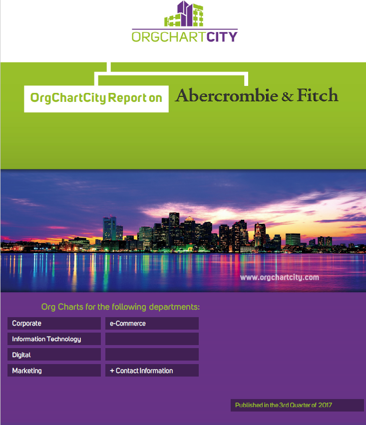 Abercrombie & Fitch Org Charts by OrgChartCity
