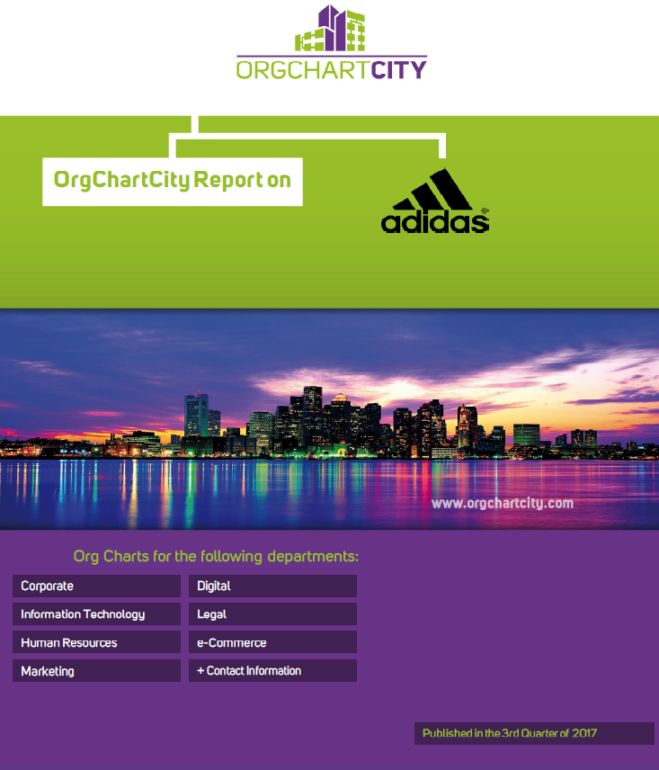 adidas Org Charts by OrgChartCity