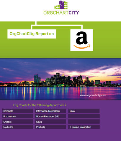 Amazon Org Charts by OrgChartCity