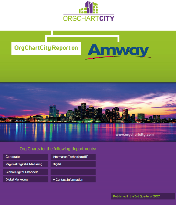 Alticor (Amway) Org Charts by OrgChartCity
