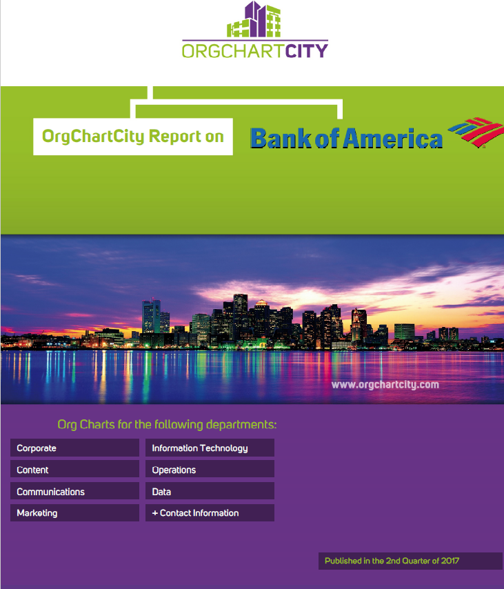 Bank of America Org Charts by Org Chart City