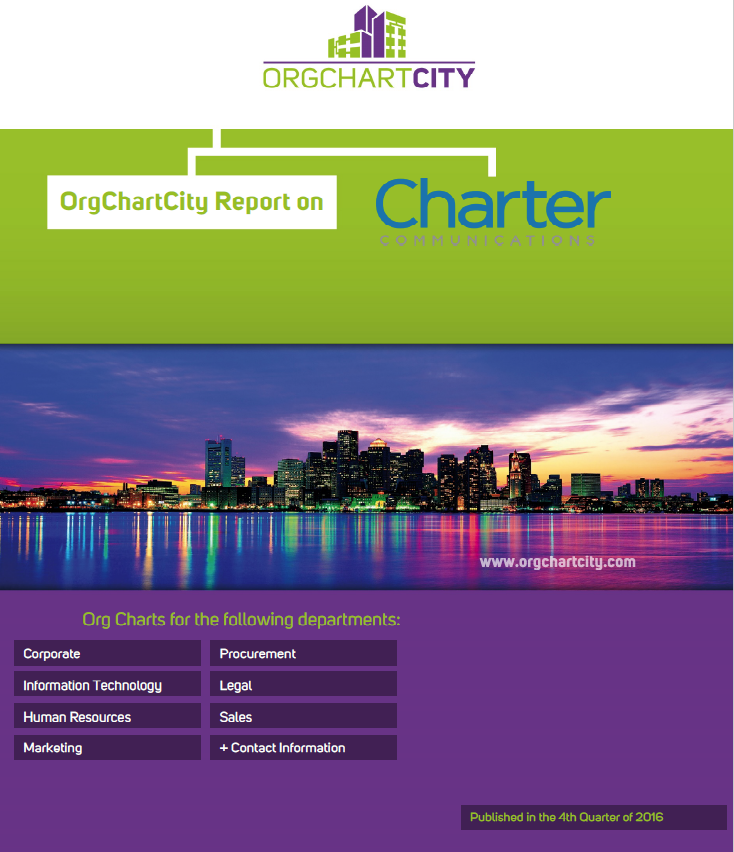 Charter Communications Org Charts by OrgChartCity