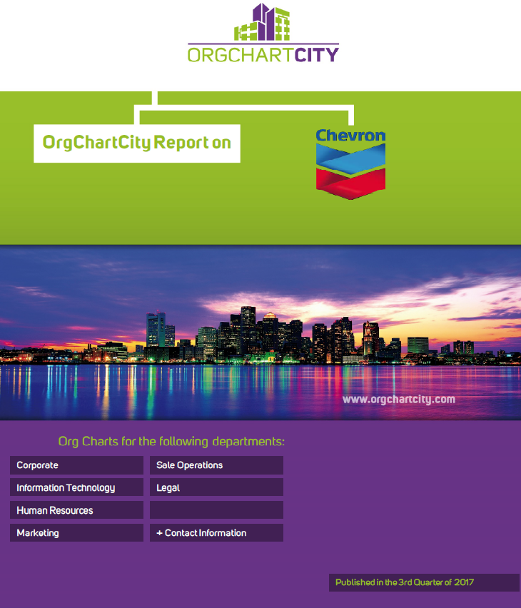 Chevron Org Charts Report by OrgChartCity