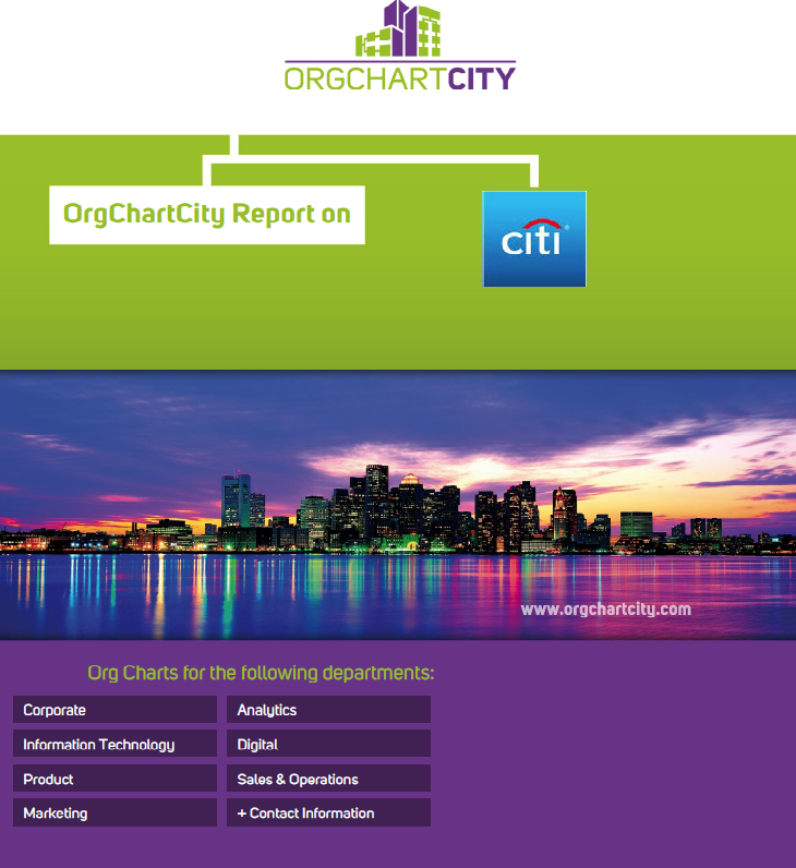 Citigroup Org Charts by OrgChartCity