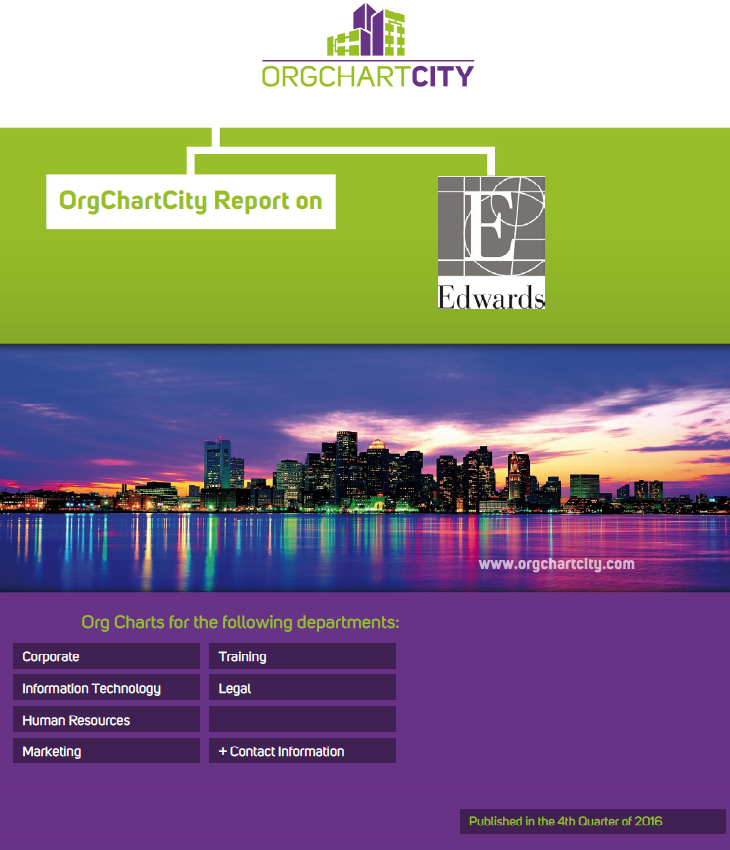 Edwards Lifescience Org Charts by OrgChartCity