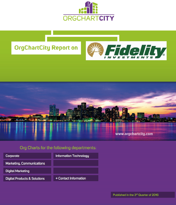 Fidelity Investments Org Charts by Org Chart City