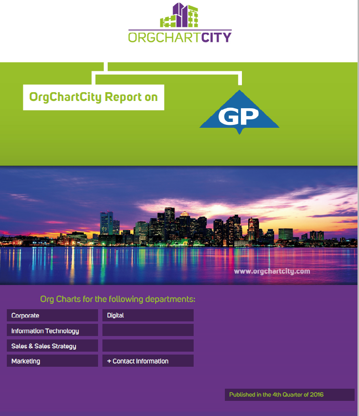 Georgia-Pacific Org Chart Report by OrgChartCity