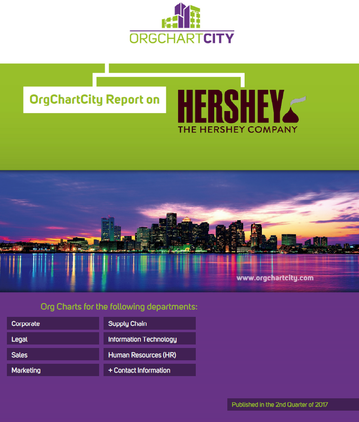 The Hershey Company (NYSE: HSY) Org Charts by OrgChartCity