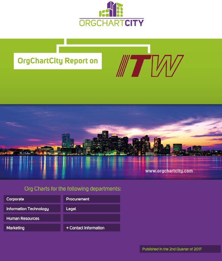 Illinois Tool Works Organizational Charts by OrgChartCity