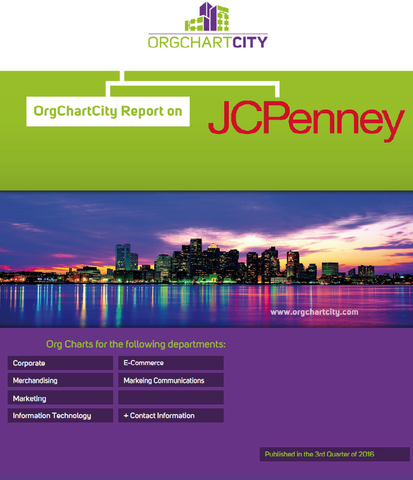 J.C. Penney Company, Inc (NYSE: JCP) Org Charts by OrgChartCity