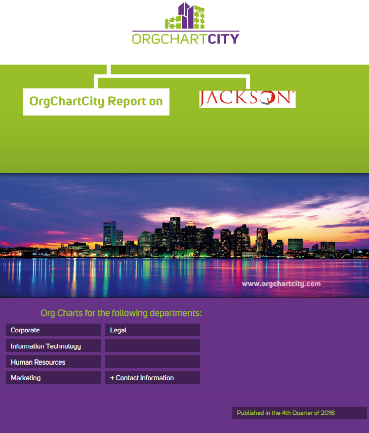 Jackson National Life Insurance Org Charts by OrgChartCity