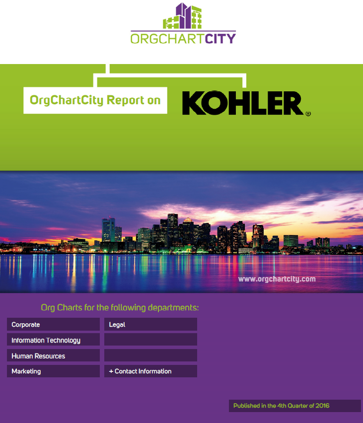 Kohler Org Charts by OrgChartCity