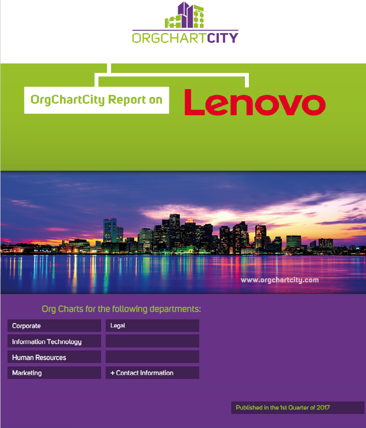 Lenovo Org Charts by OrgChartCity