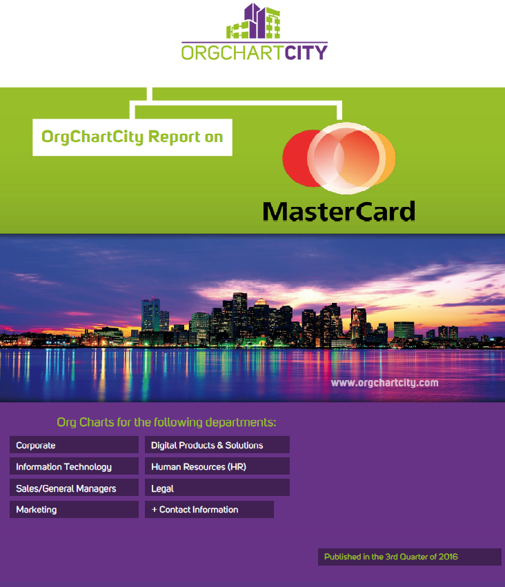 Mastercard Worldwide (NYSE: MA) Org Charts by OrgChartCity