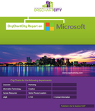 Microsoft Organizational Structure - Free Org Charts Report