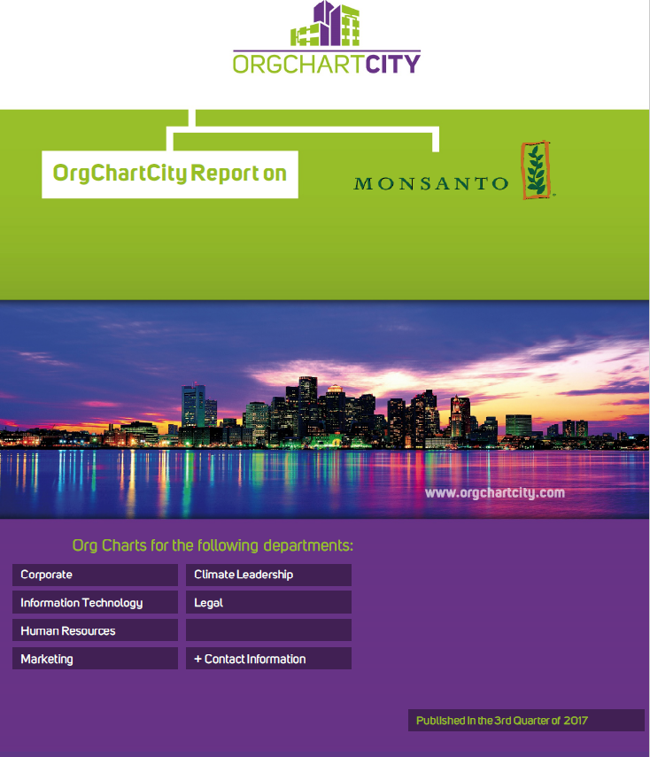 Monsanto Org Charts by OrgChartCity
