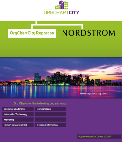 Nordstrom Org Charts by OrgChartCity (NYSE: JWN)