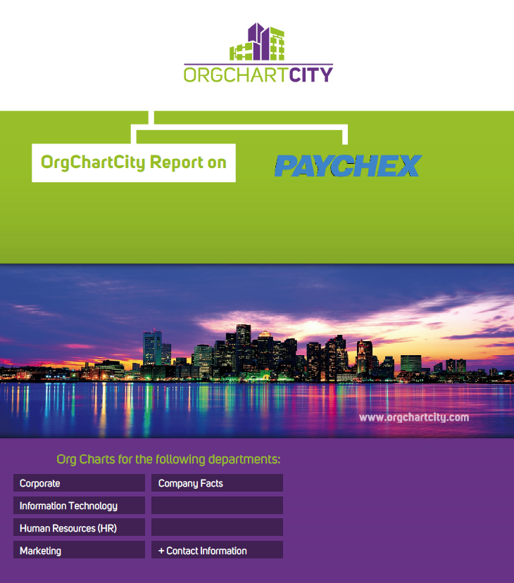 Paychex Org Charts by OrgChartCity