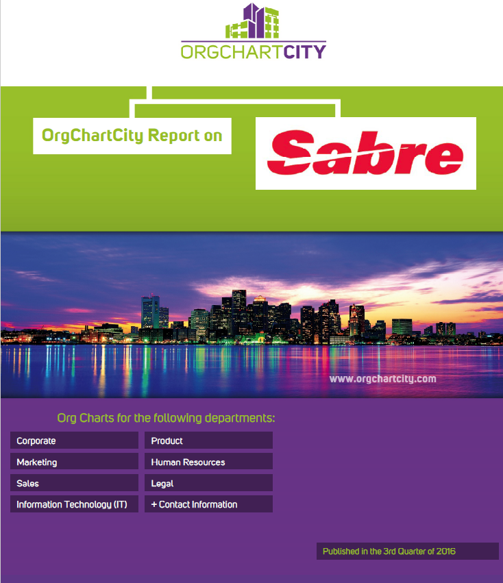 Sabre Org Charts by OrgChartCity