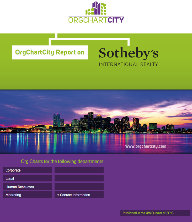 Sotheby's International Realty Org Charts by OrgChartCity