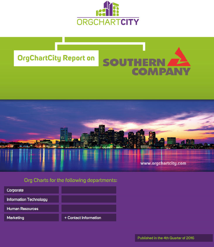Southern Company Org Charts by OrgChartCity