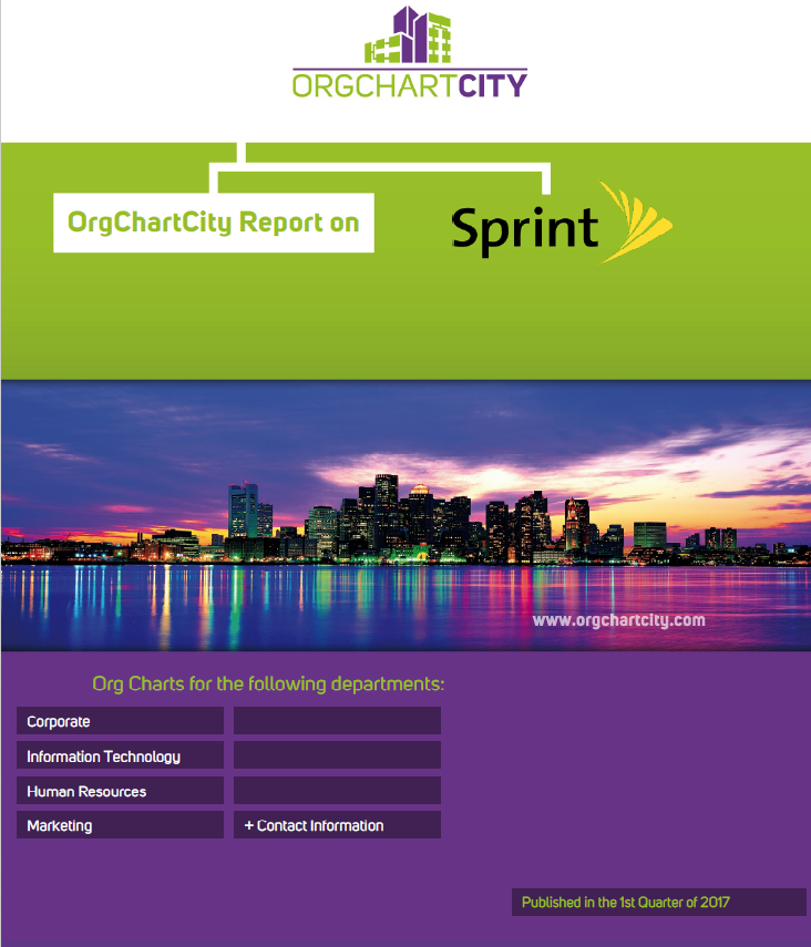 Sprint Corporation Org Charts by OrgChartCity