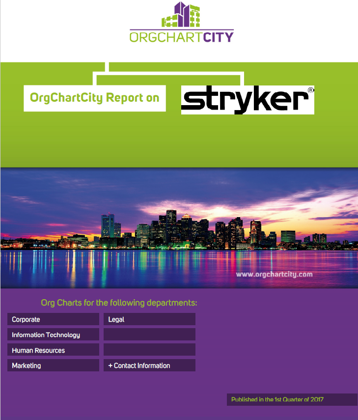 Stryker Org Charts by OrgChartCity