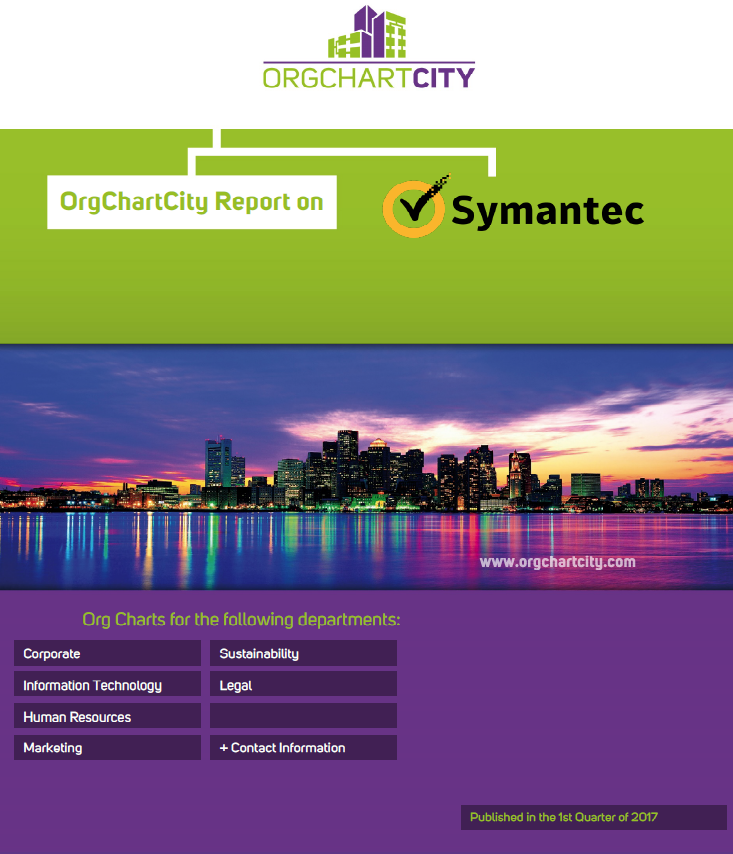 Symantec Org Charts by OrgChartCity