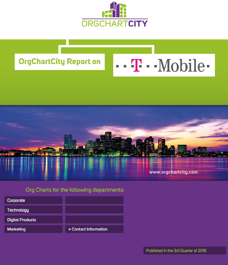 T-Mobile Organizational Charts by Org Chart City