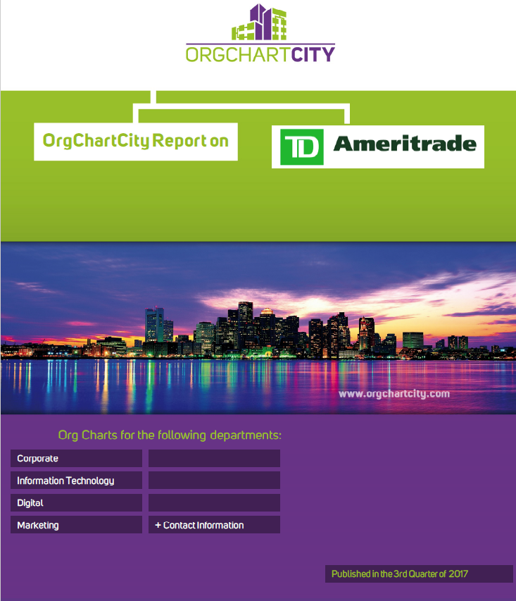 TD Ameritrade Org Charts by OrgChartCity