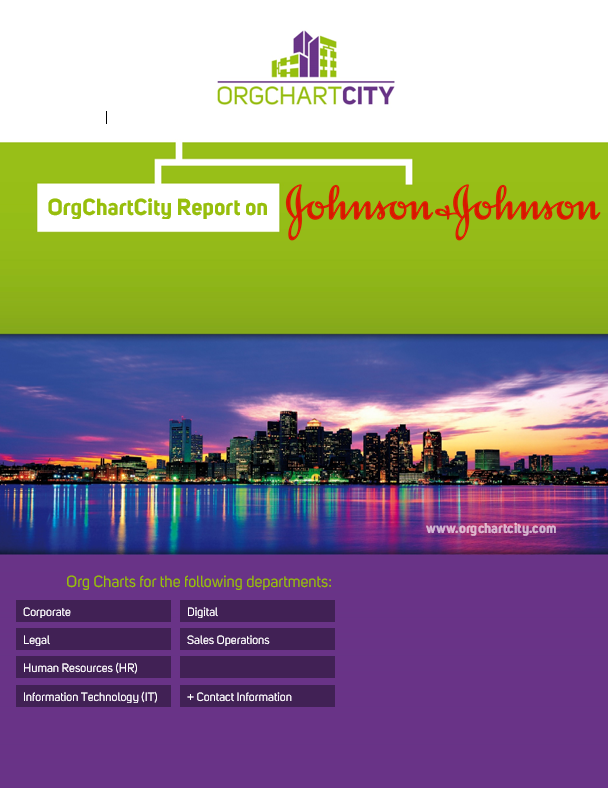 Johnson & Johnson Org Charts by OrgChartCity
