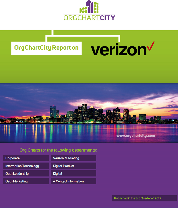 Verizon Org Charts by OrgChartCity