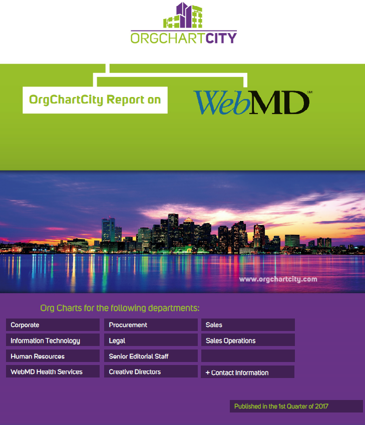 WebMD Org Charts by OrgChartCity