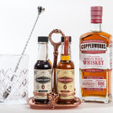Copper Glencairn & Bitters Stand