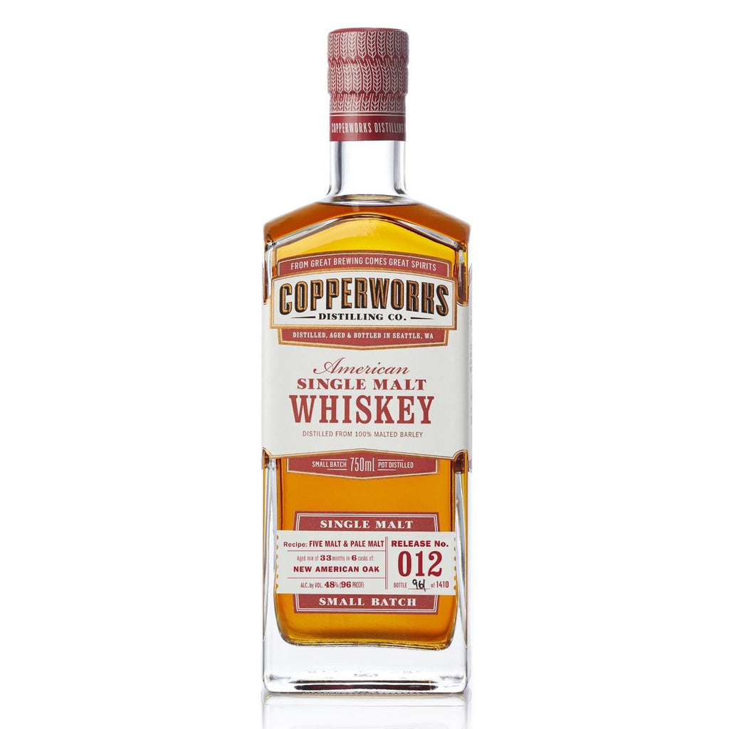Copperworks American Single Malt Whiskey Release 012 (750ml)