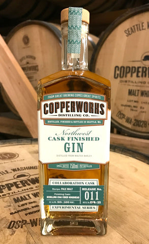 Copperworks Chai Cider Cask Finished Gin (750 ml)