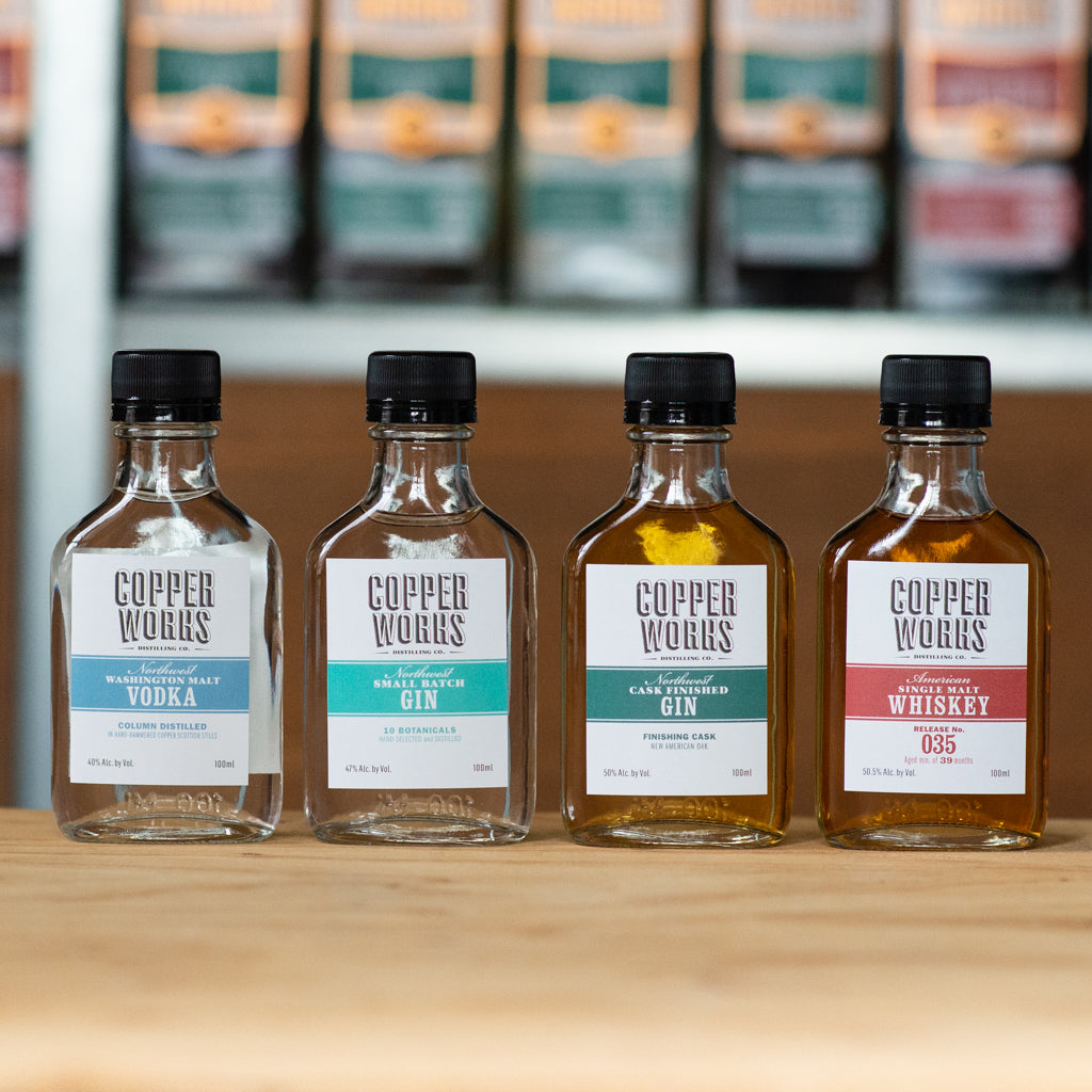 Spirits Flight with Online Guided Tasting