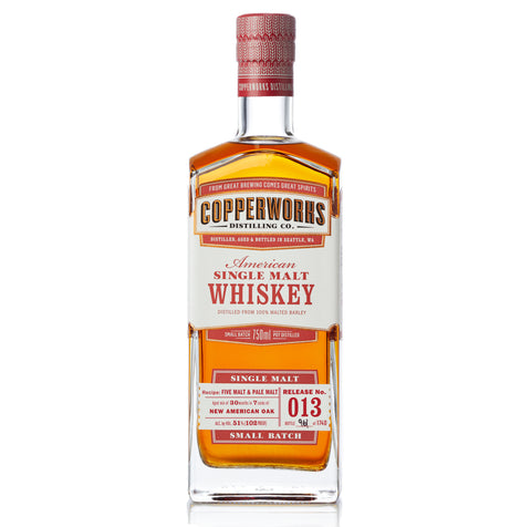 Copperworks American Single Malt Whiskey Release 013 (750ml)