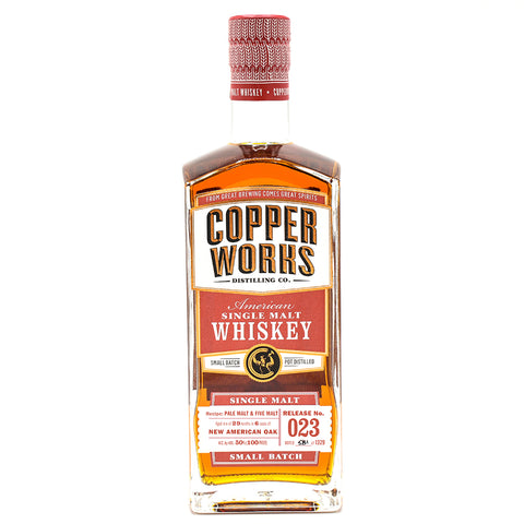 Copperworks American Single Malt Whiskey Release 023 (750ml)